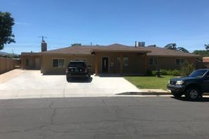 Wonderfully updated home in Eldorado school district with a 1300 square foot casita.  Main house is approx 1700 feet with 3 bed 2 bath.  Within last 3 years new stucco, roof, windows, AC unit, bathrooms and kitchen.  Casita is approx 1300 feet with 2 bed and 1 bath.  Within last 3 years also stucco, windows, paint, tile.  Casita is equipped with washer and dryer hookup.  Marvelous multi generational opportunity!  Go see it before I buy it!