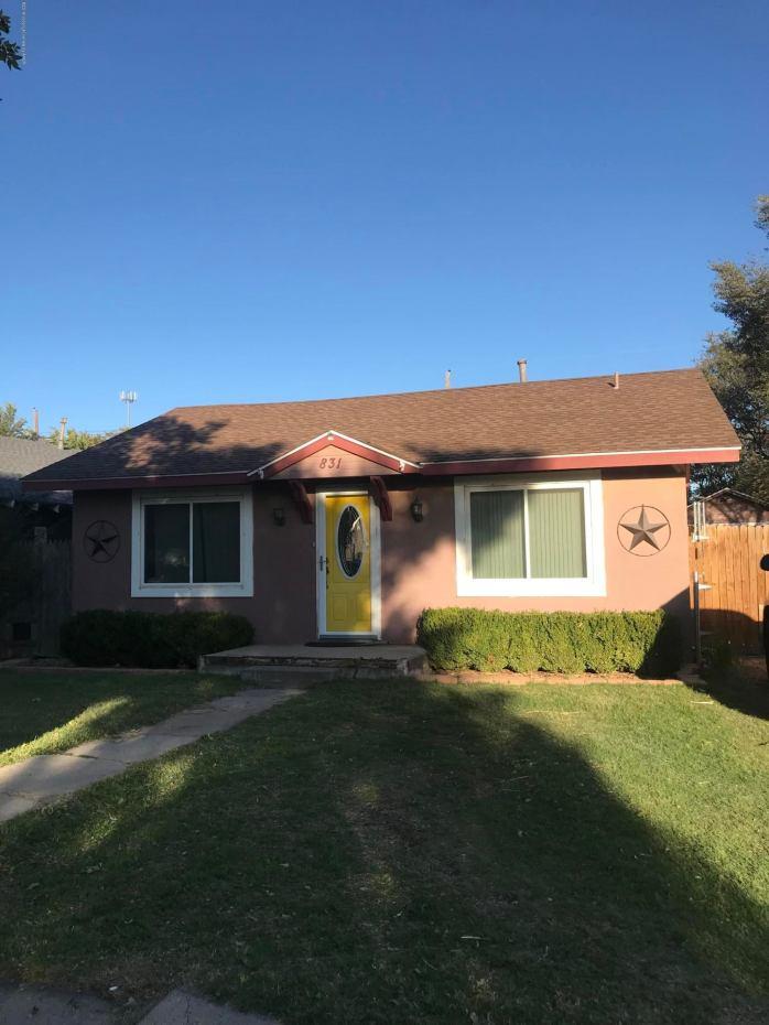 831 S FLORIDA ST, Amarillo, TX 79106