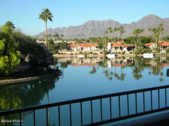 Wonderful Scottsdale Bay Club condo on the water.