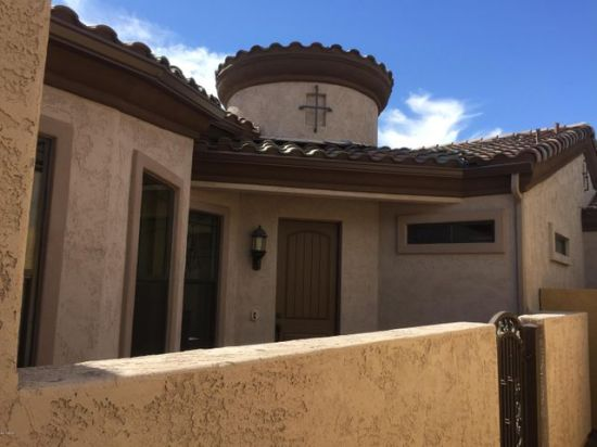 Gated Courtyard Entry for Privacy