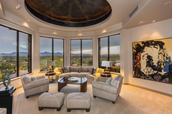 -The ultimate luxury is a home to display your personal collections.