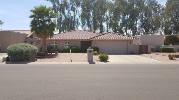 9418 E FAIRWAY Boulevard, Sun Lakes, AZ 85248