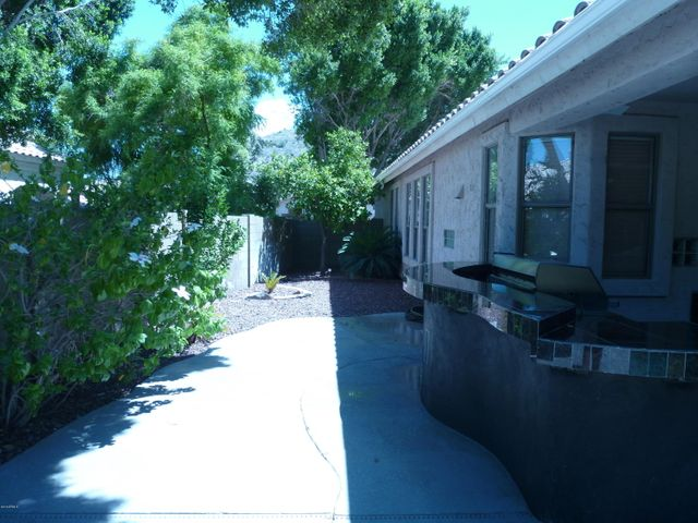 Large lot with pleant of privacy