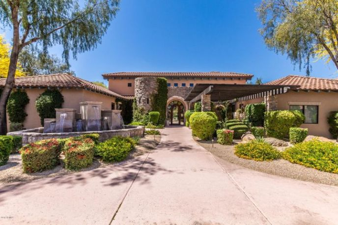 GATED COMMUNITY includes two resort style heated pools and spa, fitness center with sauna, a billiard room, clubhouse, kitchen and dining room & private movie theatre.