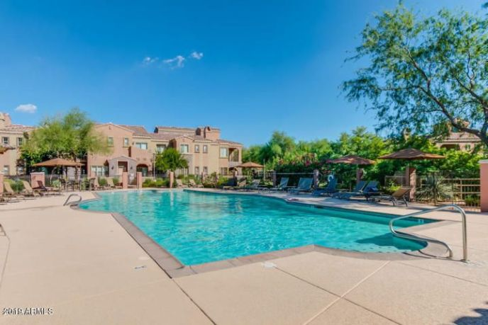 The Villages private pool
