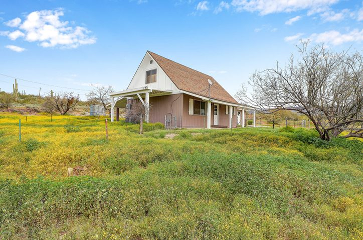 7 Acres with Country Home