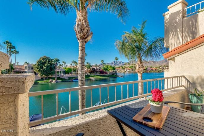 This Stunning Lakefront Location is the Perfect Place to Relax...