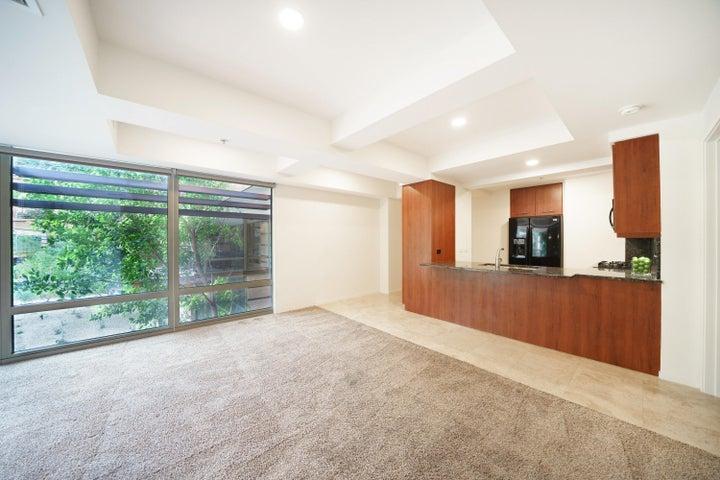 Large floor to ceiling windows!