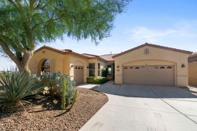 Oversized corner lot and great curb appeal!