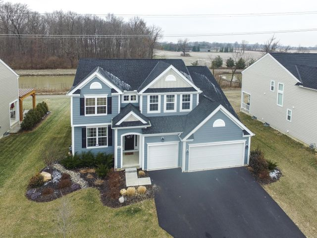 Beautiful home! 5 level split with great curb appeal. Backs to Hilliard walking path and private farm.