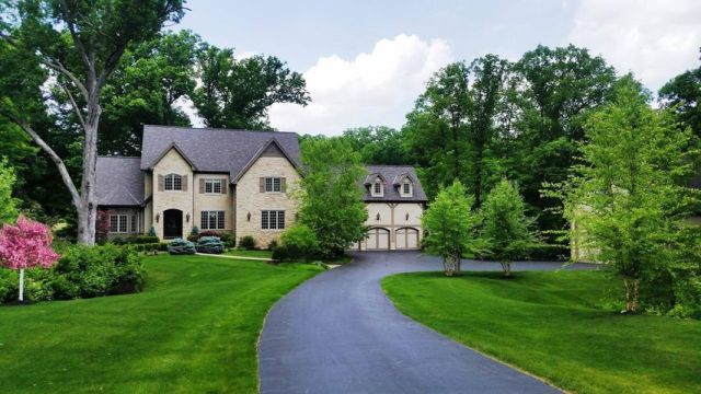 Stunning estate on nearly 3 acres of woodland property. A TRUE ENTERTAINMENT HOME.