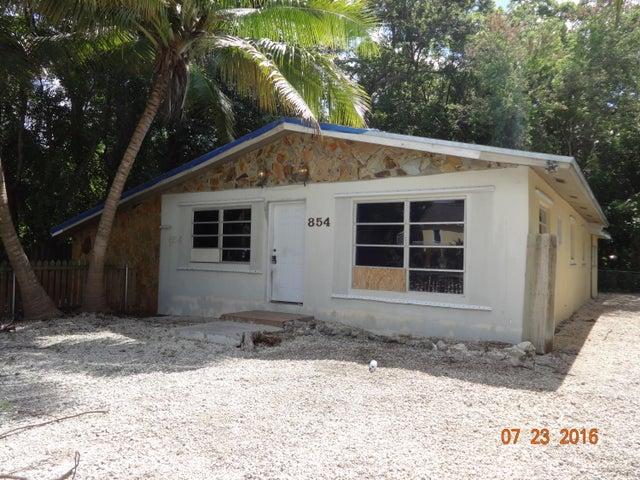 854 Ellen Drive, Key Largo, FL 33037