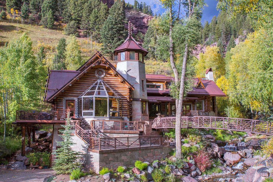 Colorado mountain homes for Colorado mountain house