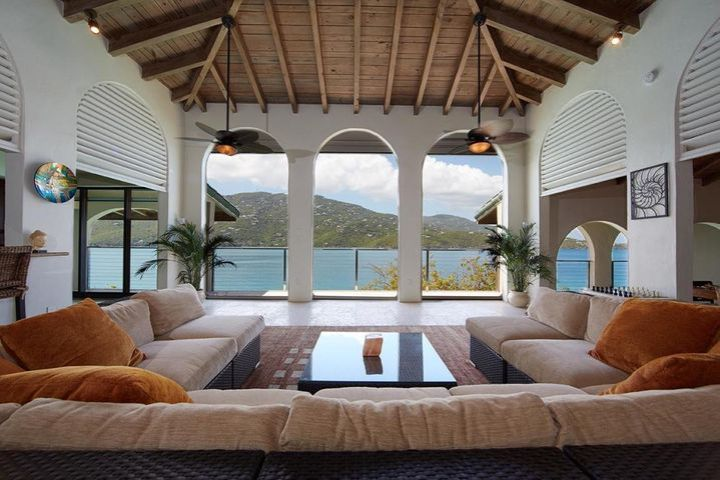 Living room and view