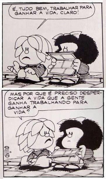 mafalda 8 - Confira tirinhas históricas da Mafalda que explicam porque Quino foi um artista gigante