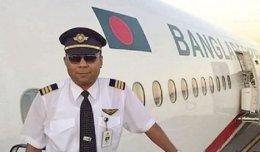 Pilot Naushad Qayyum on life support