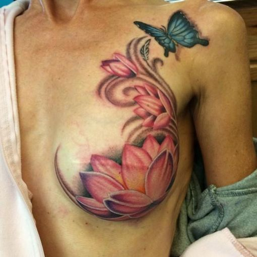 24 Uplifting Breast Cancer Tattoos For Survivors And Supporters   Ritely 24 Uplifting Breast Cancer Tattoos For Survivors And Supporters