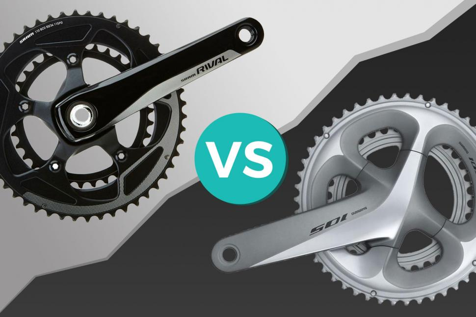 Shimano 105 v SRAM Rival — find out which 11-speed groupset is best for you