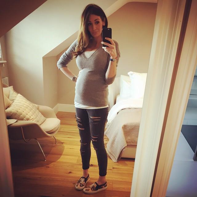 Peta Todds Pregnant Selfie Peta Toddinstagram