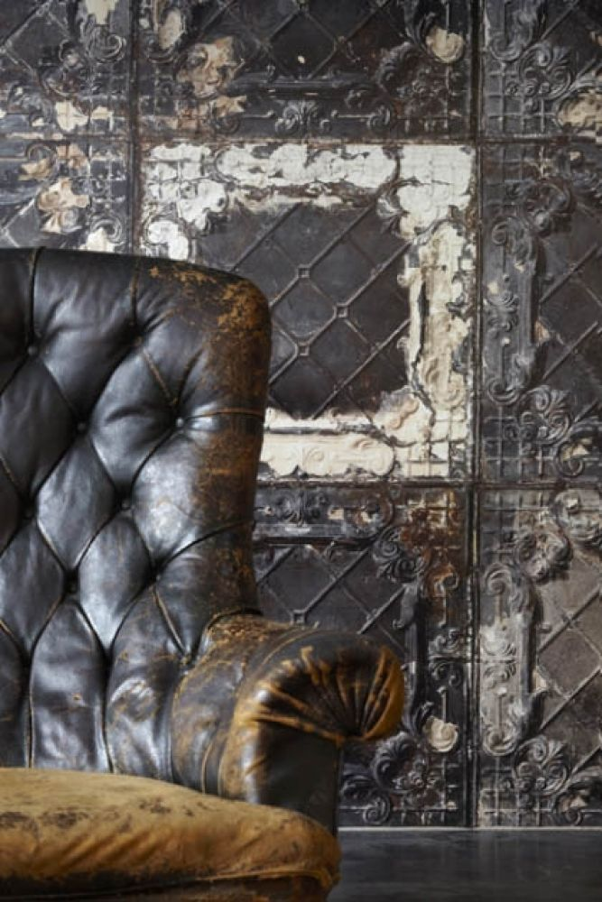 nlxl tin 07 brooklyn tin tiles wallpaper by merci