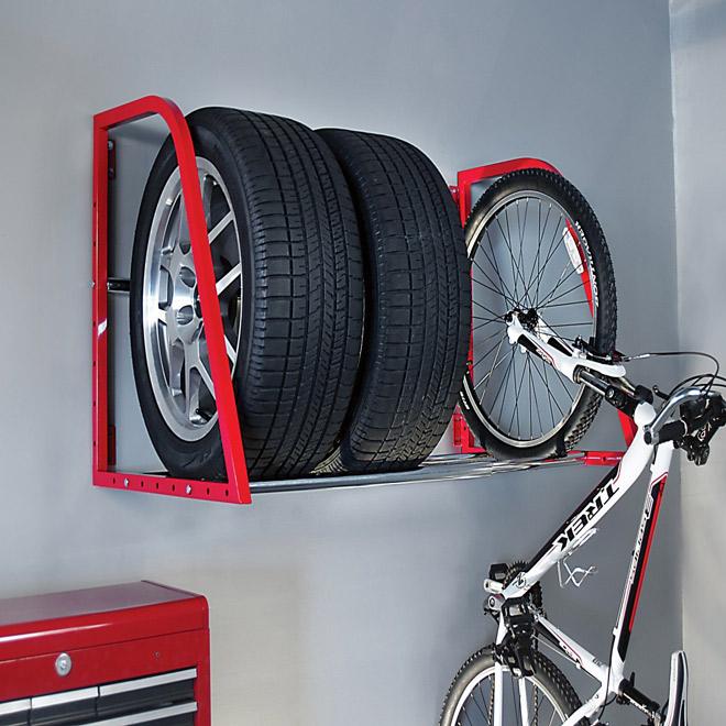 tire wall rack