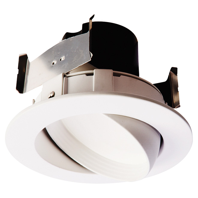 adjustable dimmable recessed retrofit kit led 4 white