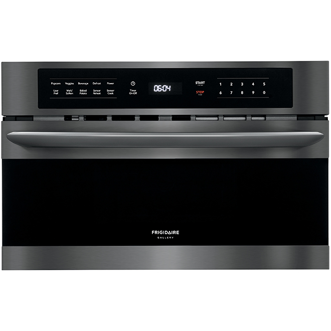 drop down door microwave 950 w 1 6 cu ft black stainless
