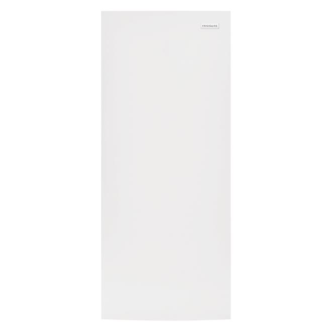 congelateur vertical frigidaire md 28 15 5 pi blanc