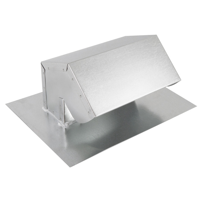 roof cap exhaust for range hood or bathroom fan