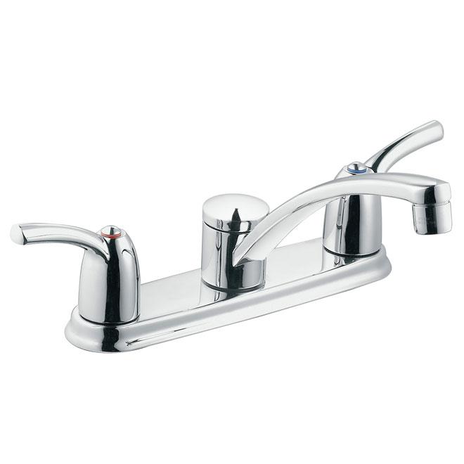 adler 2 handle kitchen faucet
