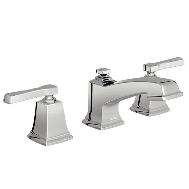 boardwalk 2 handle lavatory faucet chrome