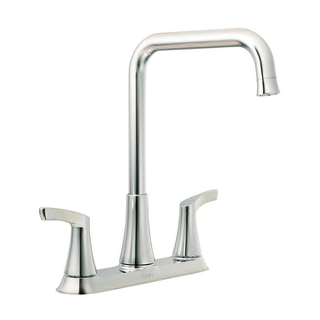 danika 2 handle kitchen faucet