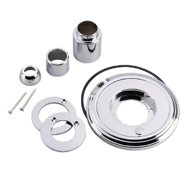trim kit for delta tub shower faucet chrome