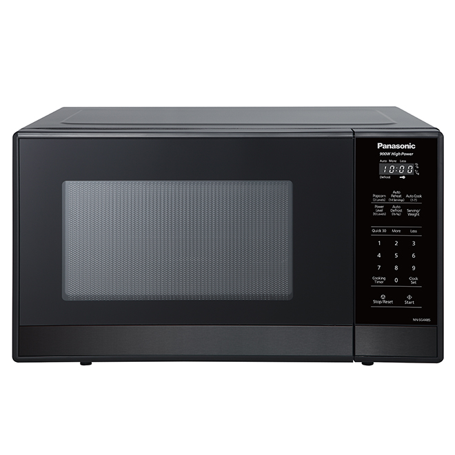 countertop microwave oven 0 9 cu ft black stainless