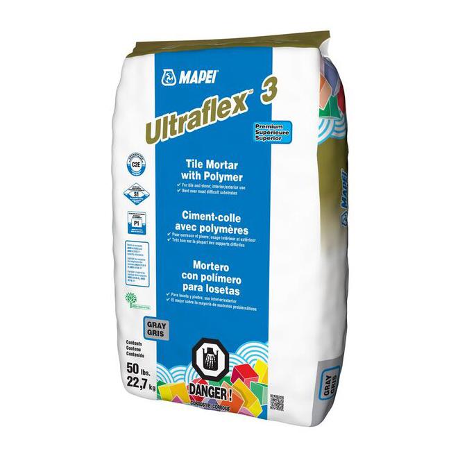 premium polymer modified tile mortar 22 7 kg
