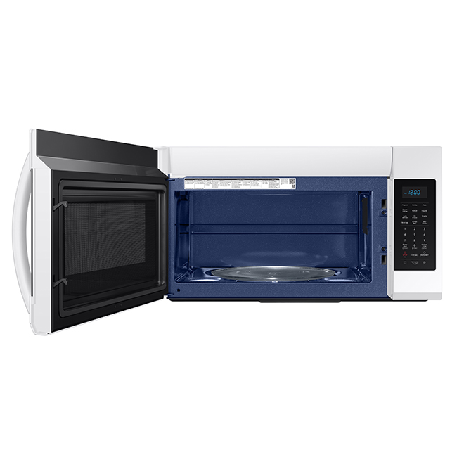 samsung over the range microwave 1 9 cu ft white