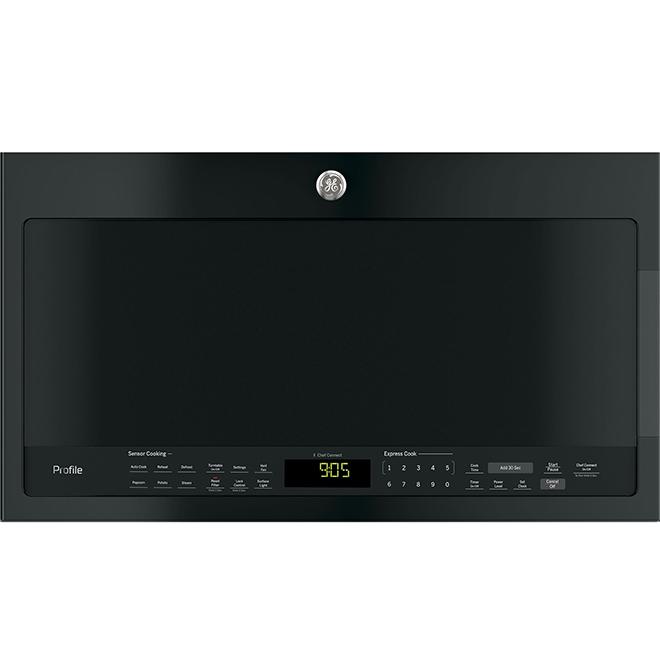 over the range microwave oven 30 400 cfm slate