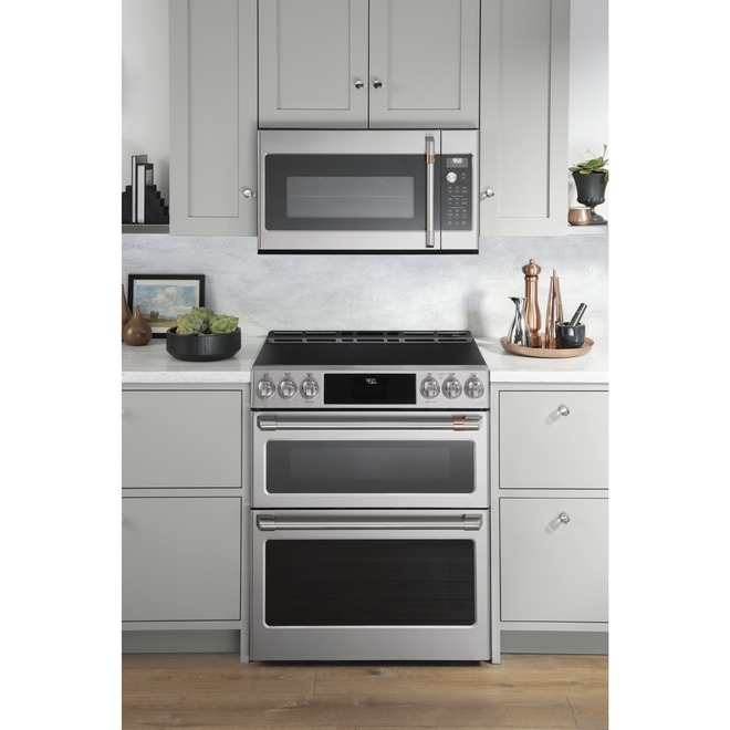 cafe tm over the range microwave oven 30 stainless