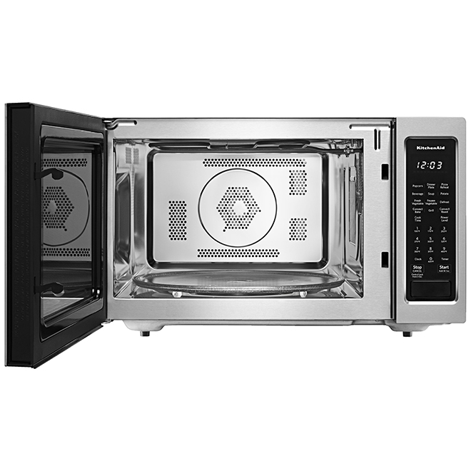 kitchenaid convection microwave oven 1 5 cu ft 1400 w ss
