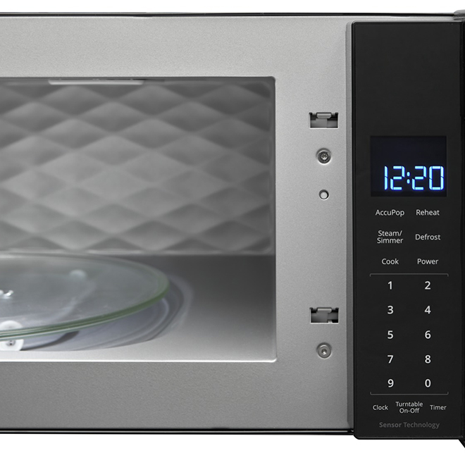 whirlpool r over the range microwave oven 1 1 cu ft black
