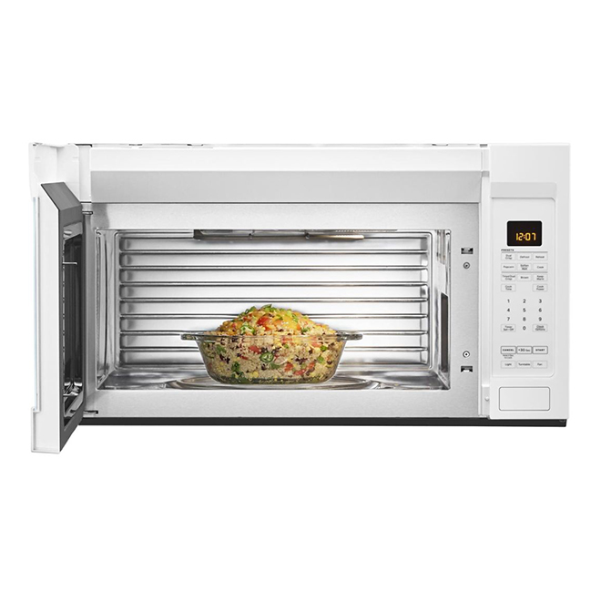 maytag microwave over the range 1 9 cu ft white