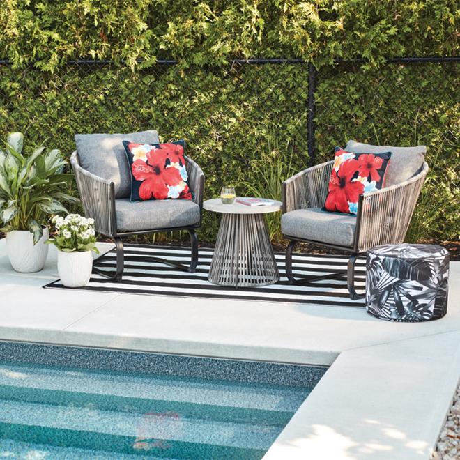 reversible outdoor rug plastic 5 x 7 black white