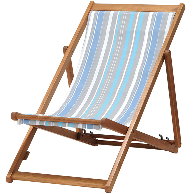 outdoor folding chair blue and taupe