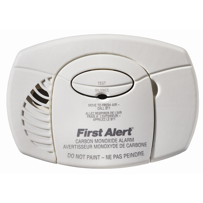 First Alert Electrochemical Carbon Monoxide Detector Battery Operated 1039933 Rona