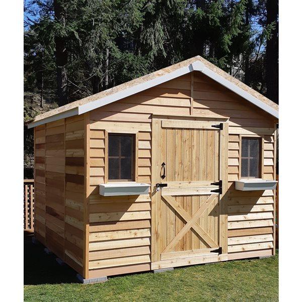remise de jardin cedarhouse 10 x 12 cedre