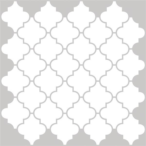 wallpops peel stick backsplash tiles four panels 10 in x 10 in