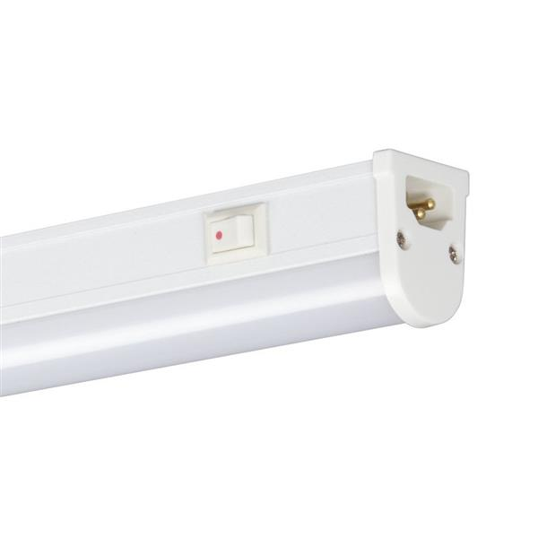 galaxy 22 625 in hardwired plug in under cabinet led strip light