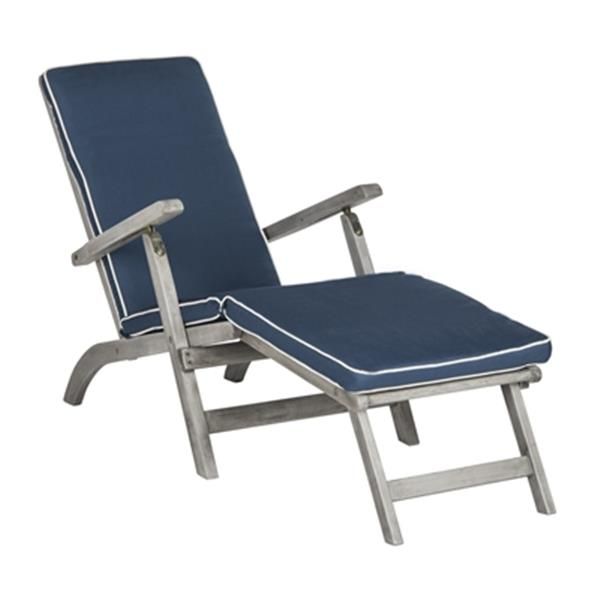 safavieh palmdale 36 10 in x 21 90 in navy lounge chair