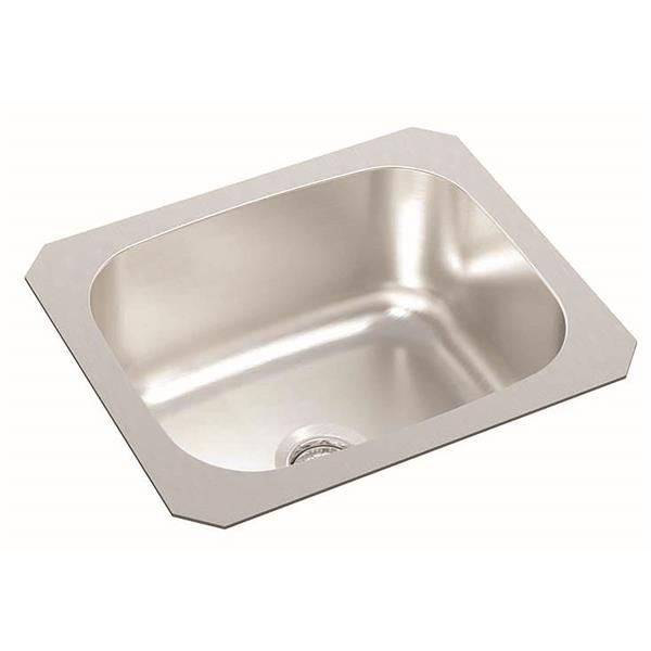 wessan stainless steel undermount bar sink 12 in x 14 in x 6 in
