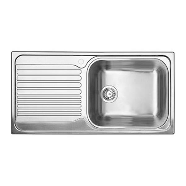 blanco tipo 19 75 in x 37 5 in stainless steel xl 6s drop in sink with drainboard